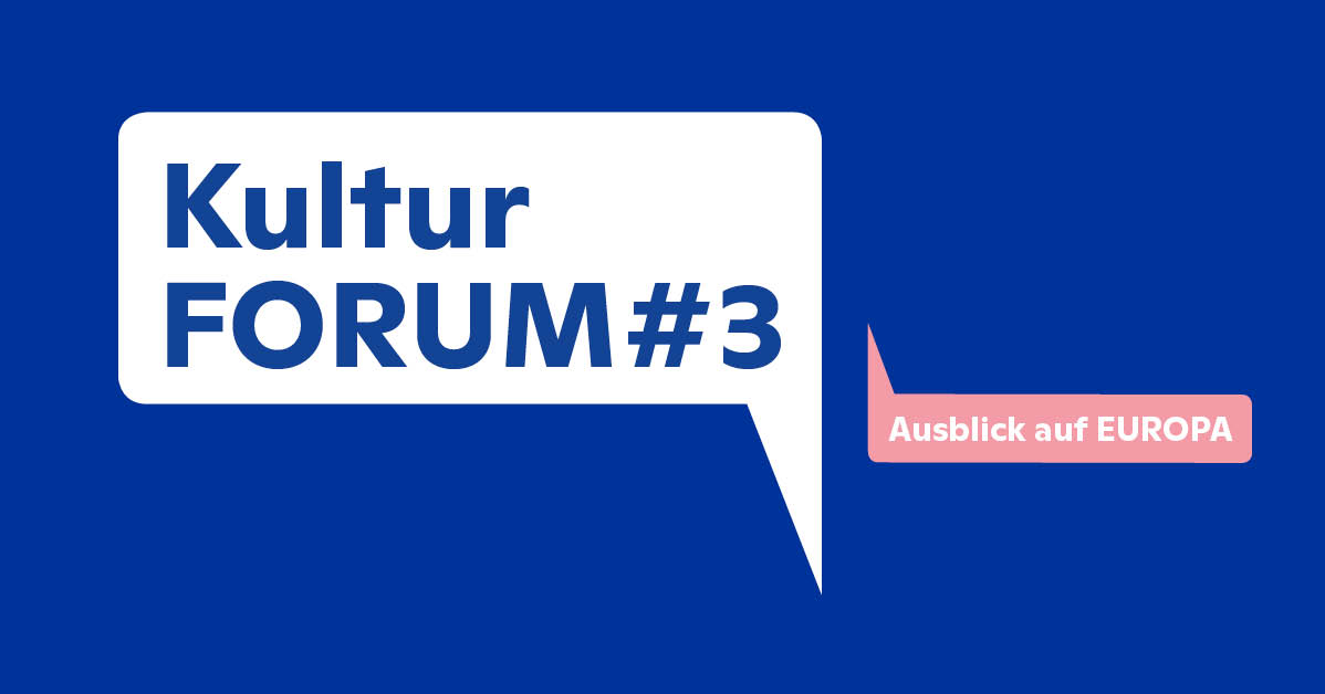 Einladung zum KulturFORUM#3 am 26. September 2018